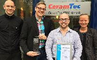 CeramTec awarded with the 2017 Industry Prize